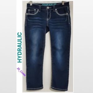 💎Bailey Bling Cropped Jeans💎